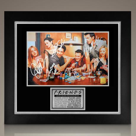 Friends // Cast Signed Photo // Custom Frame
