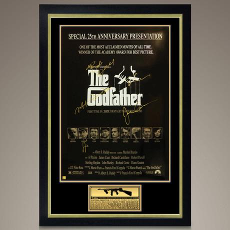 Godfather // Cast Signed Poster // Custom Frame