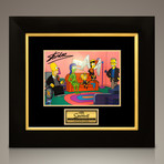 Simpsons X-Men // Stan Lee Signed Photo // Custom Frame