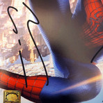 Spider-Man // Holland + Garfield + Maguire + Stan Lee Signed Photo // Custom Frame