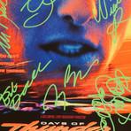 Days Of Thunder // Cast Signed Mini Poster // Custom Frame