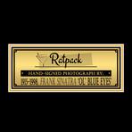 Frank Sinatra // Signed Photo // Custom Frame