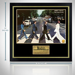 The Beatles // Band Signed Poster // Custom Frame