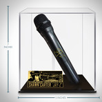 Jay-Z // Signed Microphone // Custom Museum Display (Signed Microphone Only)
