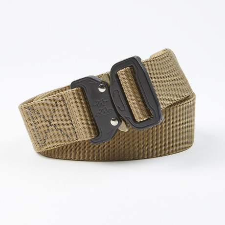 Flank Tactical Quick Release Belt // Wolf Brown