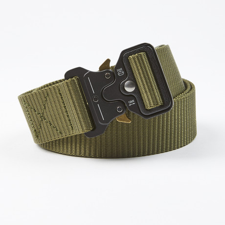 Bunker Tactical Quick Release Belt // Army Green