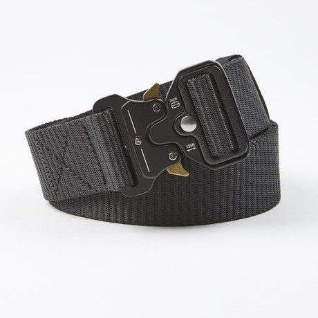 Bunker Tactical Quick Release Belt // Black