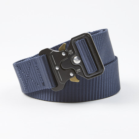 Bunker Tactical Quick Release Belt // Navy
