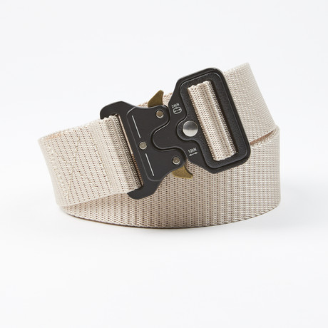 Bunker Tactical Quick Release Belt // Tan