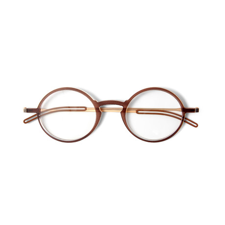 FrontPage // Manhattan Brown Glasses + Milano Black Case (1.0 D)