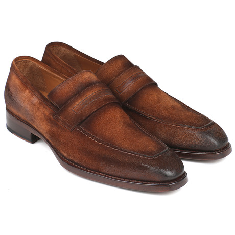 Antique Suede Goodyear Welted Loafers // Brown (Euro: 38)