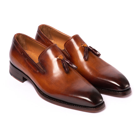 Goodyear Welted Tassel Loafers // Brown (Euro: 38)