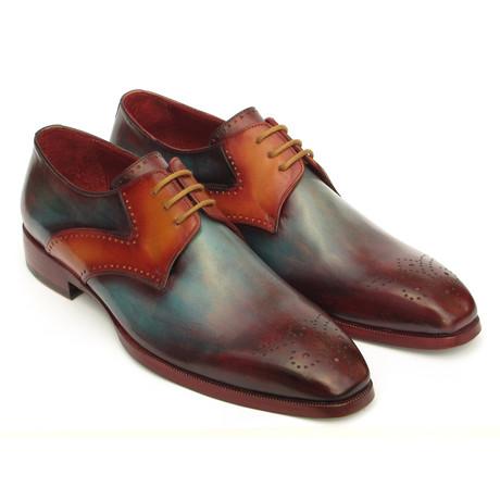 Medallion Toe Derby Shoes // Multicolor (Euro: 38)