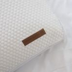 Aros White Pillow