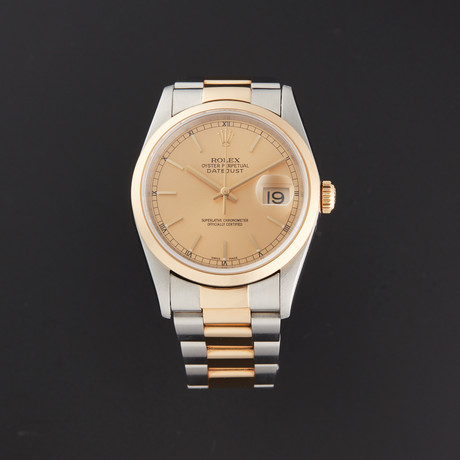 Rolex Datejust Automatic // 16203 // U Serial // Pre-Owned