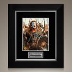 Braveheart // Mel Gibson Signed Photo // Custom Frame