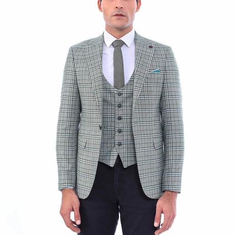 Hung Slim-Fit Blazer + Vest // Gray (Euro: 44)