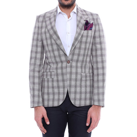 Mohammed Slim Fit Blazer // Gray (Euro: 44)
