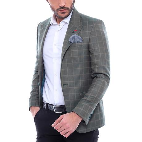 Duncan Slim Fit Blazer // Green (Euro: 44)