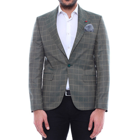 Duncan Slim Fit Blazer // Green (Euro: 44)