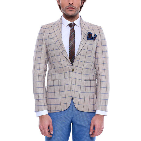 Mac Slim Fit Blazer // Beige (Euro: 44)