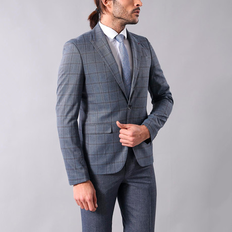 Ivan Slim Fit Blazer // Gray (Euro: 44)