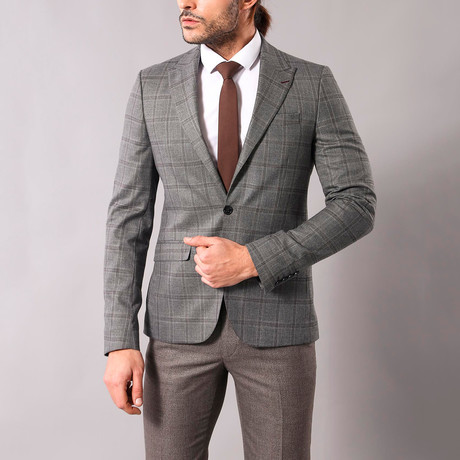 Felipe Slim Fit Blazer // Gray (Euro: 44)