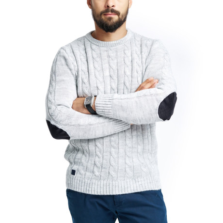 Alistair Sweater // Light Gray (S)