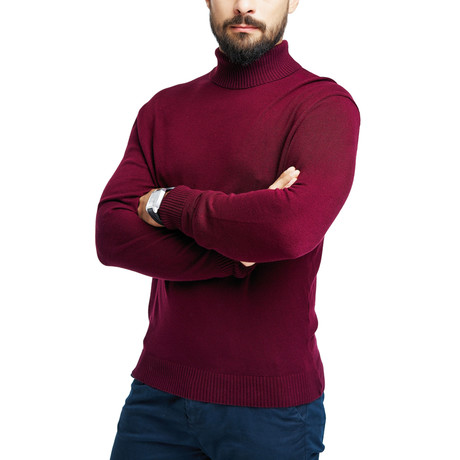 Gene Sweater // Bordeaux (S)