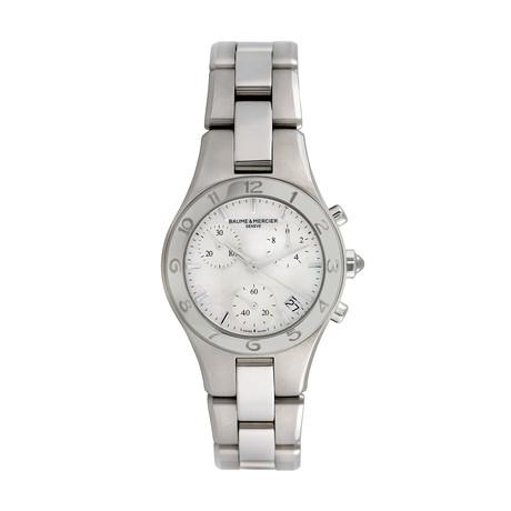 Baume & Mercier Ladies Linea Chronograph Quartz // Pre-Owned