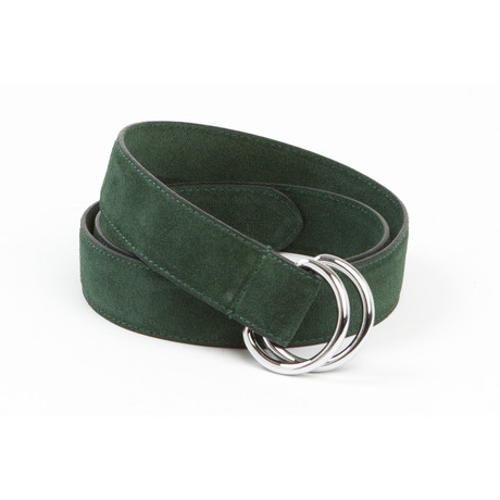 "Executive D-Ring Belt // Forest Green (42"")"