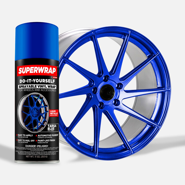 Superwrap Sprayable Vinyl Wrap Wheels Kits Up To 19
