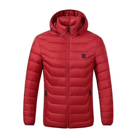 Heated Jacket // Red (S)