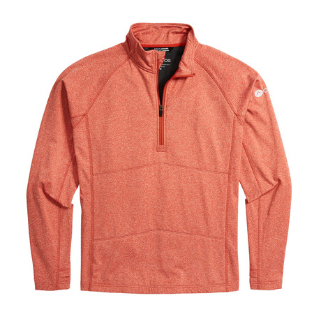 Men's Explorer Quarter Zip // Red Rock Heather (XS)