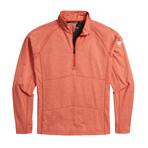 Men's Explorer Quarter Zip // Red Rock Heather (S)