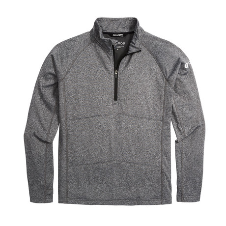 Men's Explorer Quarter Zip // Black Heather (XS)