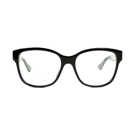 Gucci // Women's GG0038O-001 54 Optical Frames // Black