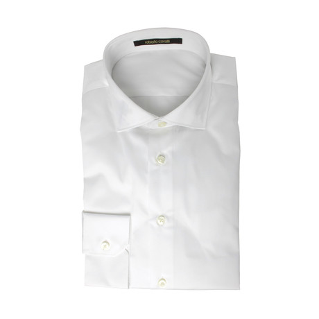 Comfort Fit Dress Shirt // Solid White (US: 15R)