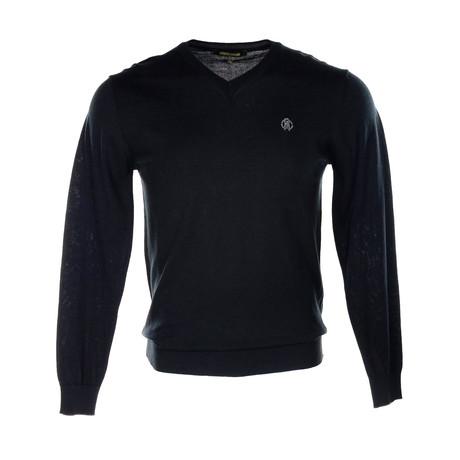 Roberto Cavalli // Logo Sweater // Black (S)