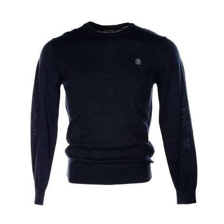 Roberto Cavalli // Logo Sweater // Dark Navy (S)