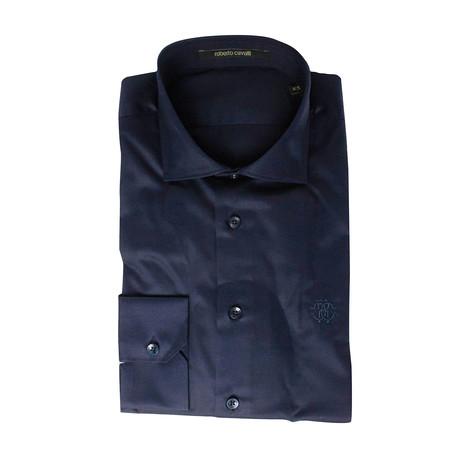 Comfort Fit Dress Shirt // Dark Blue (US: 15R)