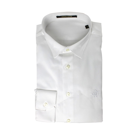 Slim Fit Dress Shirt // White (US: 15R)