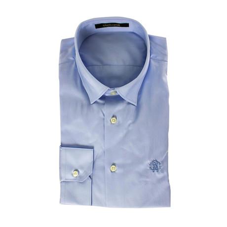 Slim Fit Light Dress Shirt // Light Blue (US: 15R)