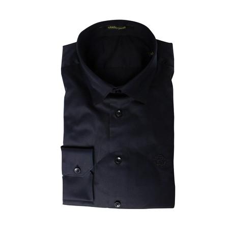 Slim Fit Dress Shirt // Black (US: 15R)