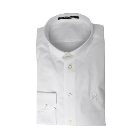 Slim Fit Dress Shirt // Snow White (US: 15R)