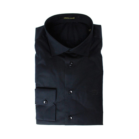 Comfort Fit Dress Shirt // Black (US: 16.5R)