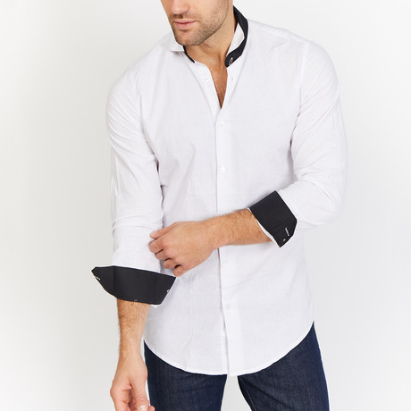 Blanc // Button Up // White (Medium)