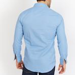 Leon Button Up // Light Blue Sapphire (L)