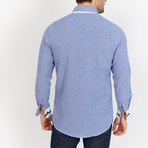Blanc // Button Up // Blue (Large)