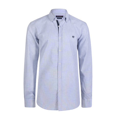 Apollo Dress Shirt // Grey + White (XS)
